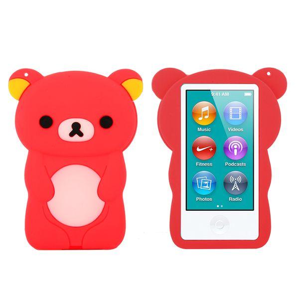 Happy Bear (Röd) iPod Nano 7 Skal