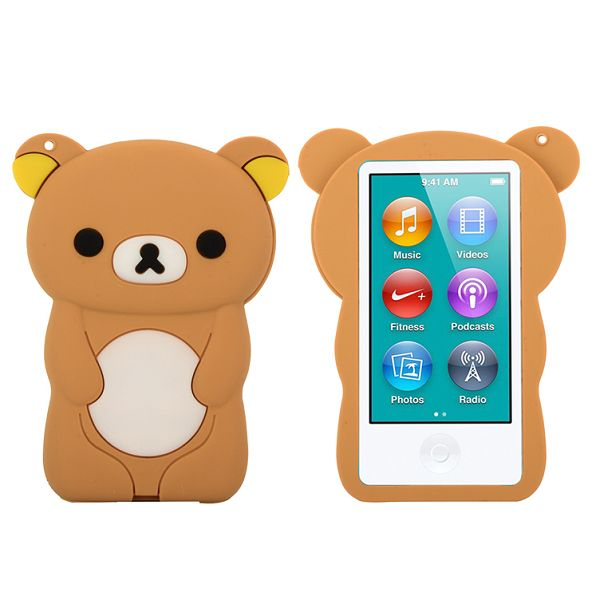 Happy Bear (Brun) iPod Nano 7 Skal