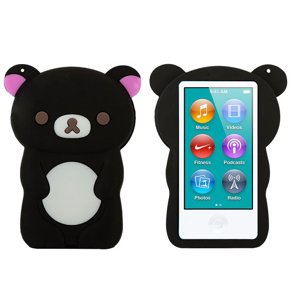 Happy Bear (Svart) iPod Nano 7 Skal