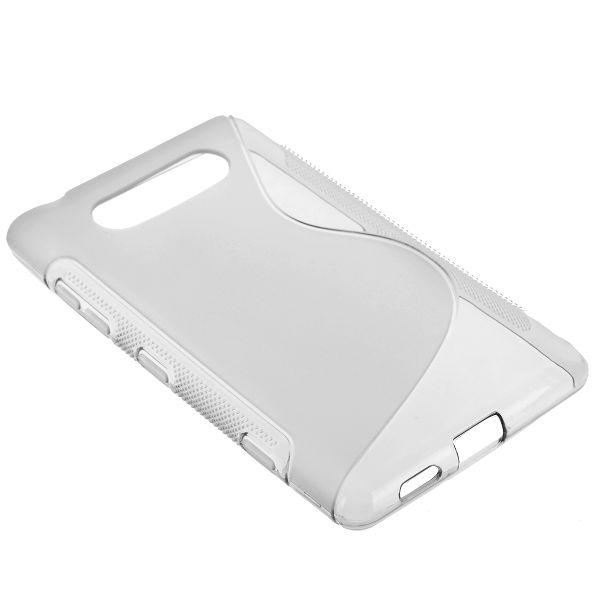 S-Line Transparent (Klar) Nokia Lumia 820 Skal