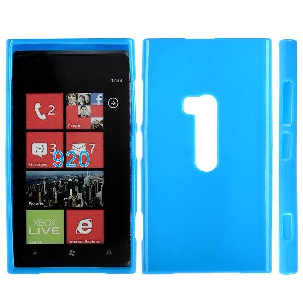 Mjukskal (Blå) Nokia Lumia 920 Skal