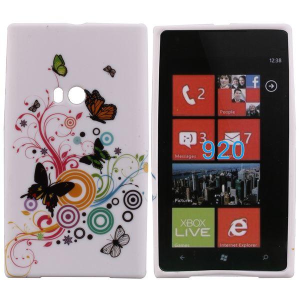 Symphony (Röd Gren) Nokia Lumia 920 Skal