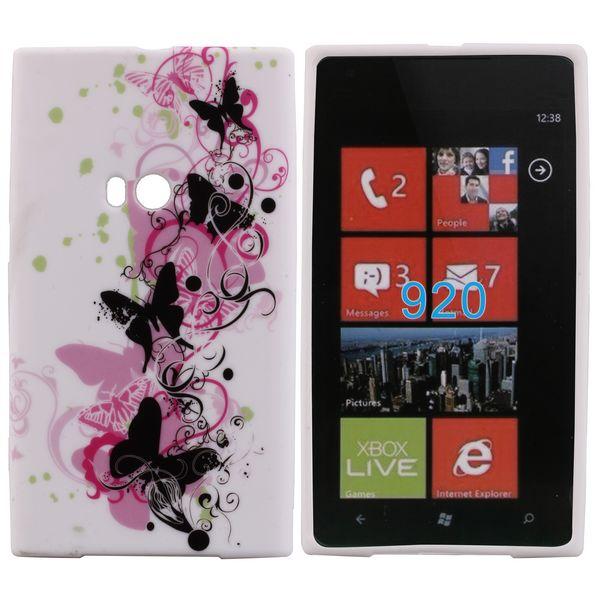 Symphony (Svarta Fjärilar) Nokia Lumia 920 Skal