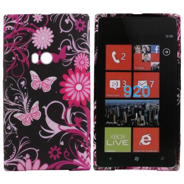 Symphony (Rosa Fjärilar) Nokia Lumia 920 Skal