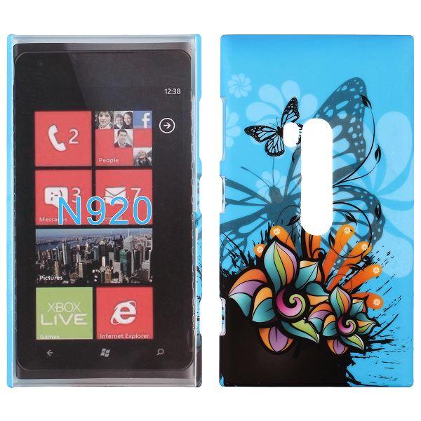 Valentine (Abstrakt – Blå Himmel) Nokia Lumia 920 Skal