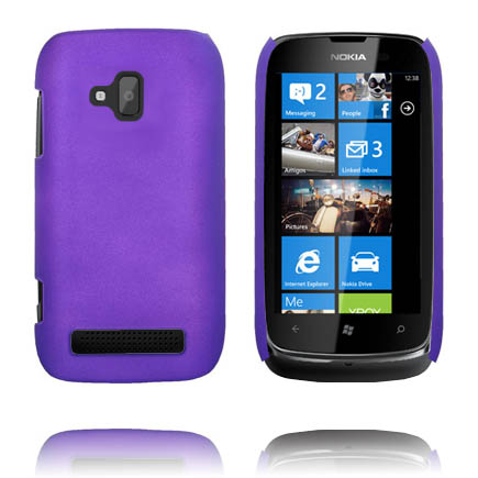 Hårdskal (Lila) Nokia Lumia 610 Skal