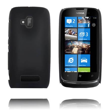 Hårdskal (Svart) Nokia Lumia 610 Skal