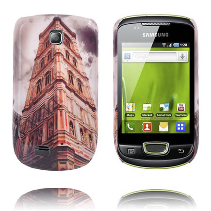 StoryLine (Square Tower) Samsung Galaxy Mini Skal