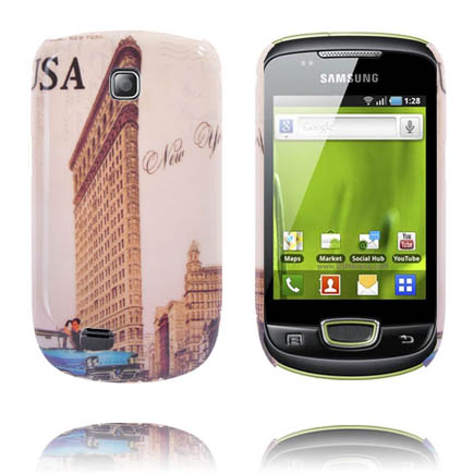 StoryLine (Time Square) Samsung Galaxy Mini Skal