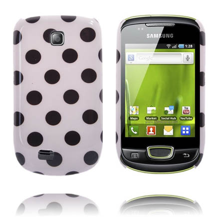 Dots (Vit) Samsung Galaxy Mini Skal