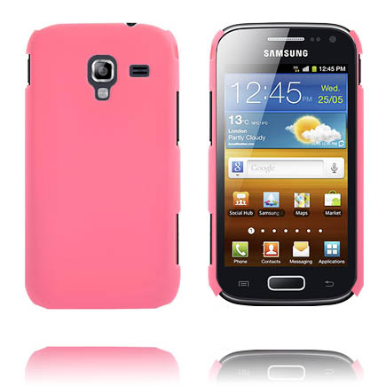 Hårdskal (Ljusrosa) Samsung Galaxy Ace 2 Skal