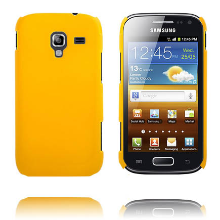 Hårdskal (Gul) Samsung Galaxy Ace 2 Skal