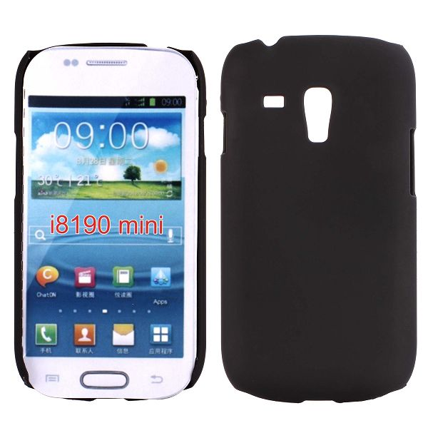 Hårdskal (Svart) Samsung Galaxy S3 Mini Skal