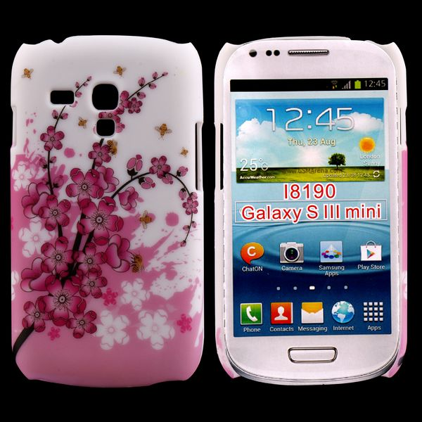Valentine (Rosa Blommande Gren) Samsung Galaxy S3 Mini Skal