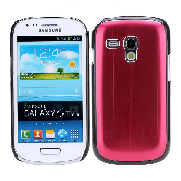 Alu Shell (Röd) Samsung Galaxy S3 Mini Skal