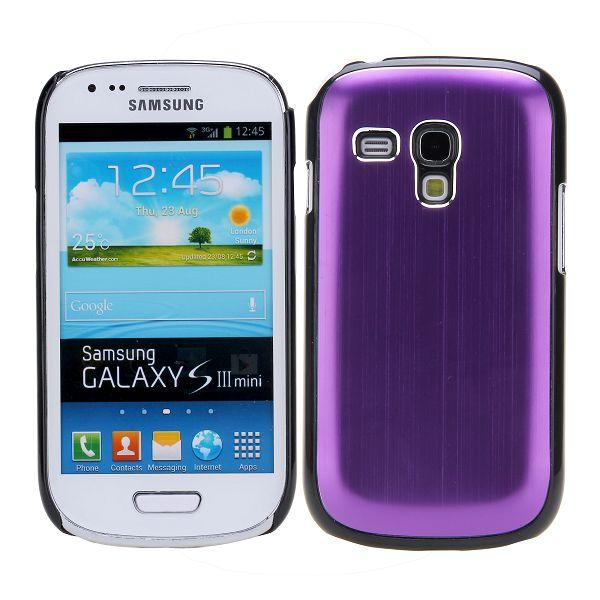 Alu Shell (Lila) Samsung Galaxy S3 Mini Skal