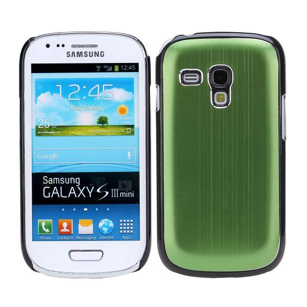 Alu Shell (Grön) Samsung Galaxy S3 Mini Skal