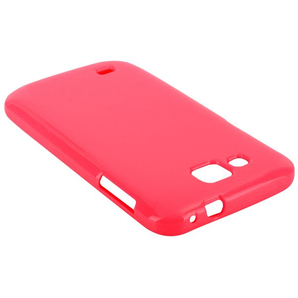 Glitter Shell (Rosa) Samsung Galaxy Premier Skal