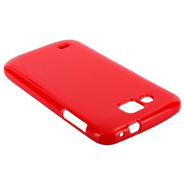 Glitter Shell (Röd) Samsung Galaxy Premier Skal