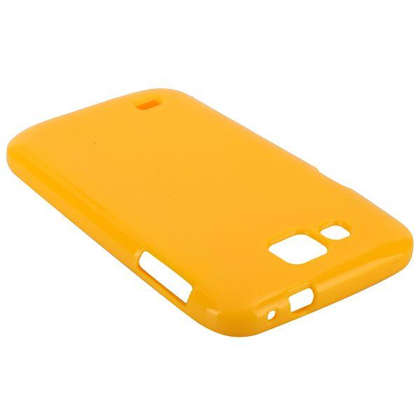 Glitter Shell (Gul) Samsung Galaxy Premier Skal