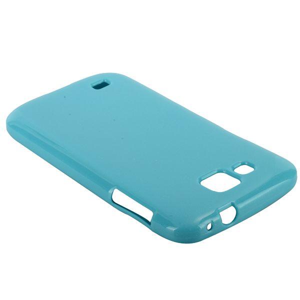 Glitter Shell (Ljusblå) Samsung Galaxy Premier Skal