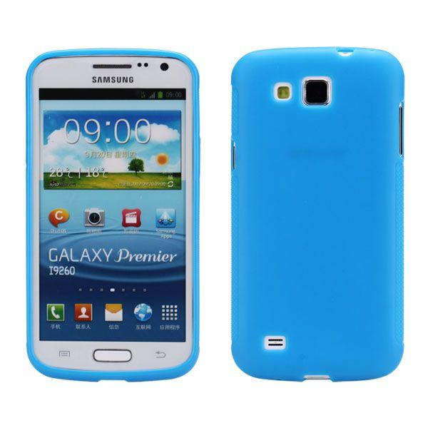 Mjukskal (Blå) Samsung Galaxy Premier Skal