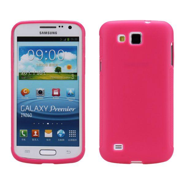 Mjukskal (Rosa) Samsung Galaxy Premier Skal