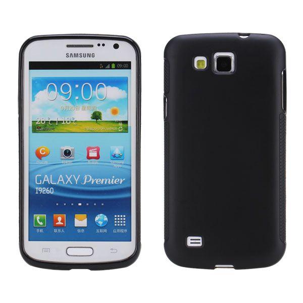Mjukskal (Svart) Samsung Galaxy Premier Skal