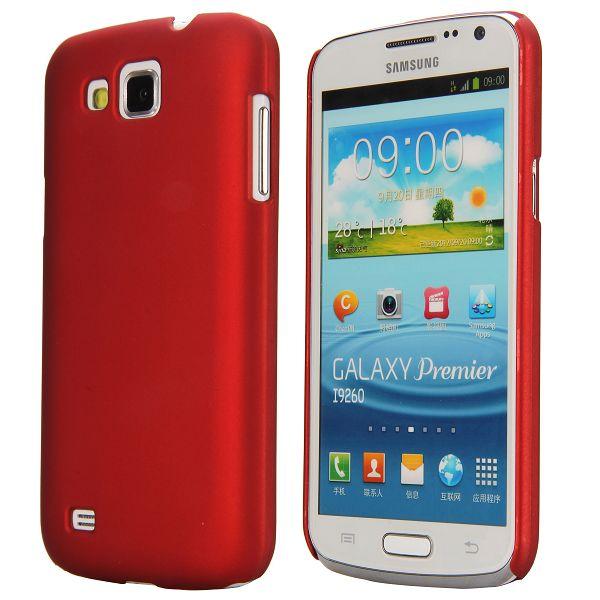 Slim Series (Röd) Samsung Galaxy Premier Skal