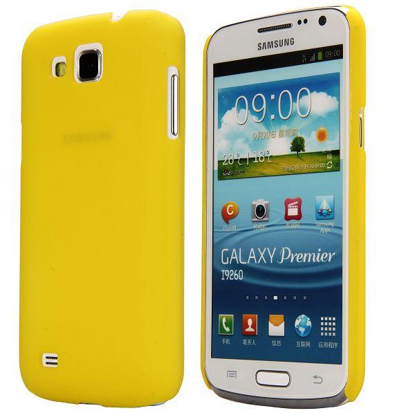 Slim Series (Gul) Samsung Galaxy Premier Skal