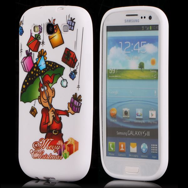 Merry Christmas (Paraply) Samsung Galaxy S3 Skal