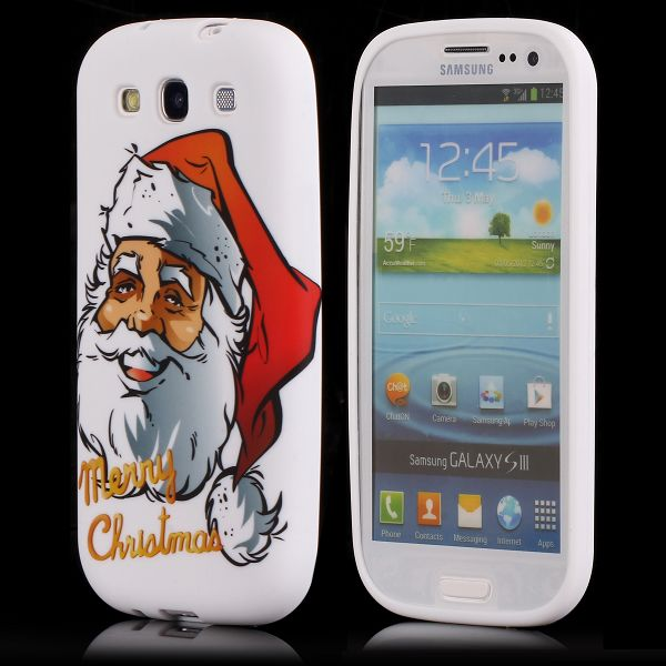 Merry Christmas (Stor Tomte) Samsung Galaxy S3 Skal