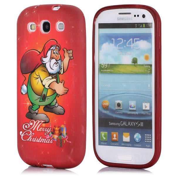 Merry Christmas (Tomte) Samsung Galaxy S3 Skal