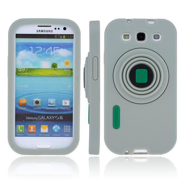 CamCase (Grå) Samsung Galaxy S3 Silikonskal