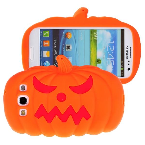 Pumpkin (Orange) Samsung Galaxy S3 Silikonskal