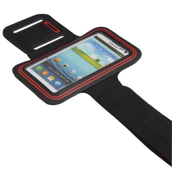 GYM – Sportarmband för Smartphones (Röd)