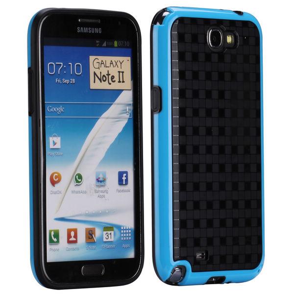 ColorEdge (Blå) Samsung Galaxy Note 2 Skal