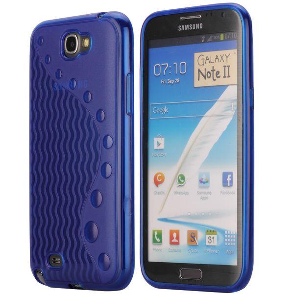 UniLine (Blå) Samsung Galaxy Note 2 Skal