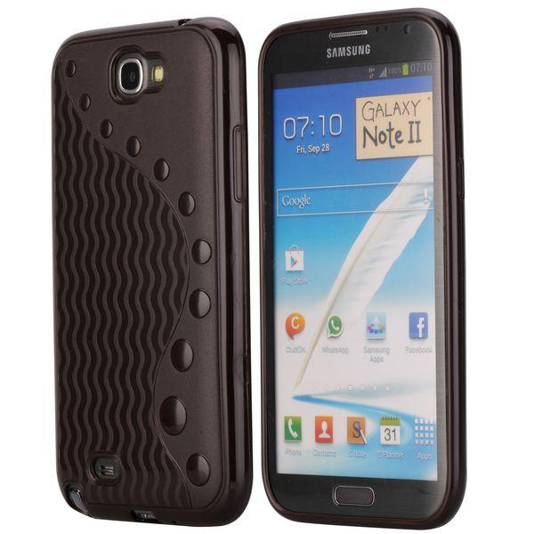 UniLine (Mörkbrun) Samsung Galaxy Note 2 Skal