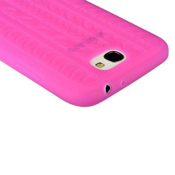 Star Tire (Het Rosa) Samsung Galaxy Note 2 Skal