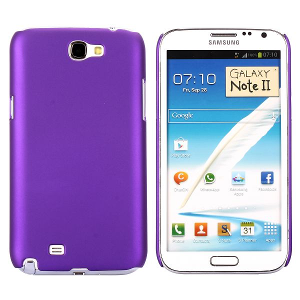 Hårdskal (Lila) Samsung Galaxy Note 2 Skal
