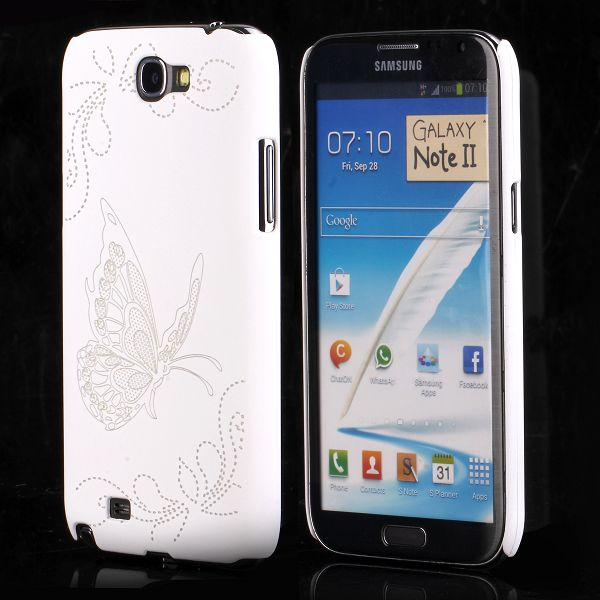 Joy (Vit) Samsung Galaxy Note 2 Skal