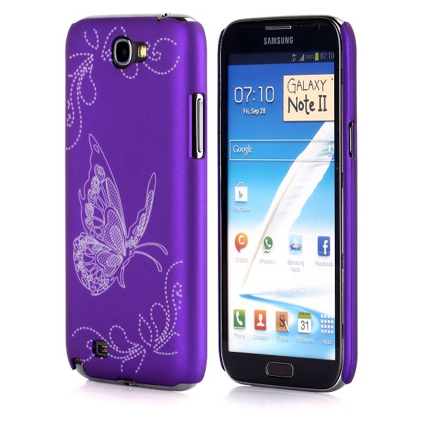 Joy (Lila) Samsung Galaxy Note 2 Skal