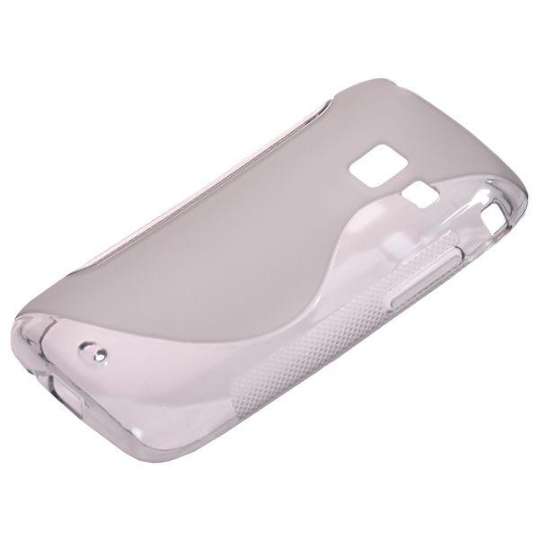 S-Line Transparent (Grå) Samsung Galaxy Y Duos Skal