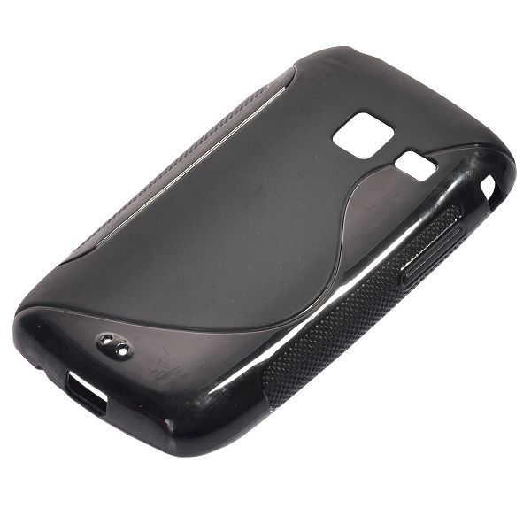 S-Line Solid (Svart) Samsung Galaxy Y Duos Skal
