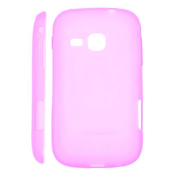 Mjukskal Matt (Het Rosa) Samsung Galaxy Mini 2 Silikonskal
