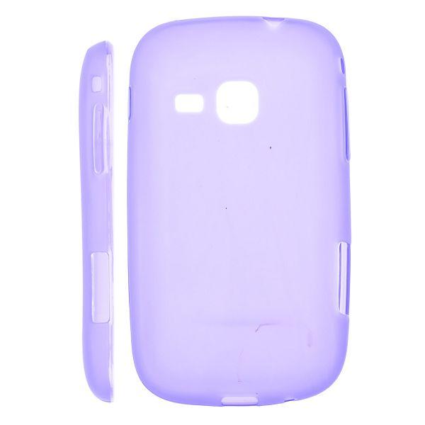 Mjukskal Matt (Lila) Samsung Galaxy Mini 2 Silikonskal