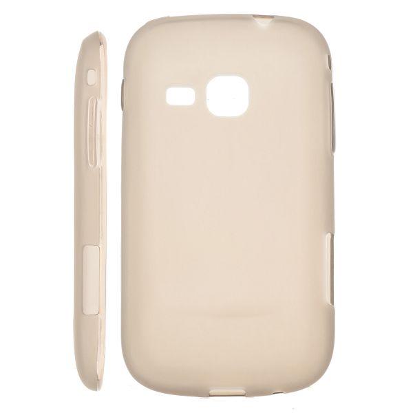 Mjukskal Matt (Grå) Samsung Galaxy Mini 2 Silikonskal
