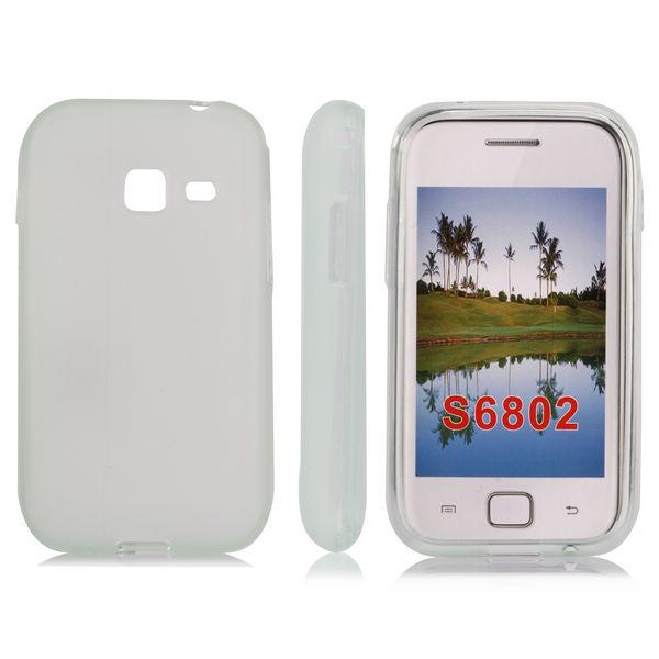 Mjukskal (Transparent) Samsung Galaxy Ace Duos Skal