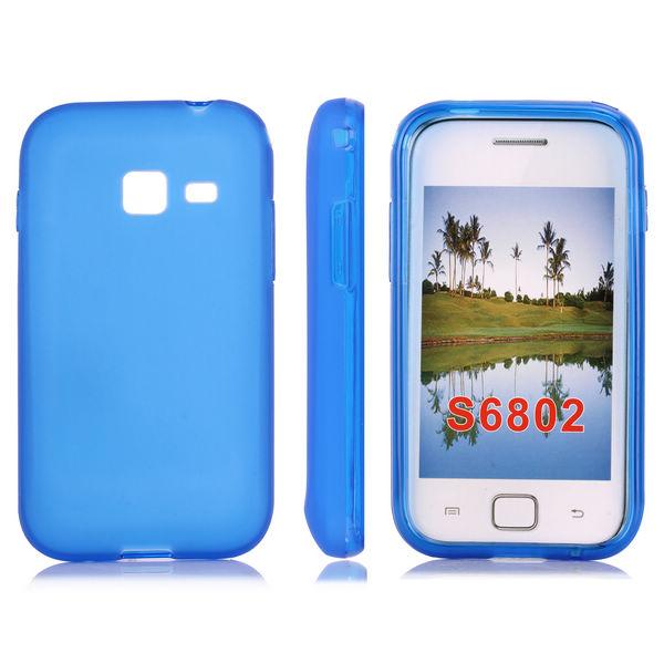 Mjukskal (Blå) Samsung Galaxy Ace Duos Skal